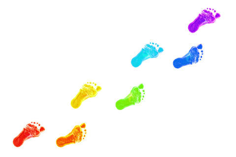 http://www.dreamstime.com/stock-photos-baby-foot-prints-all-colors-rainbow-image29448713